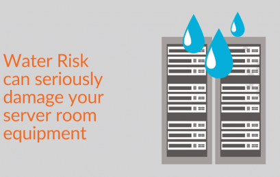 Water Risk can seriously damage your server room equipment